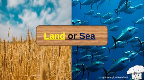 Land or Sea Game