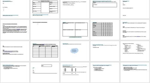 Business and Enterprise Project Booklet: GCSE Business, A Level Business