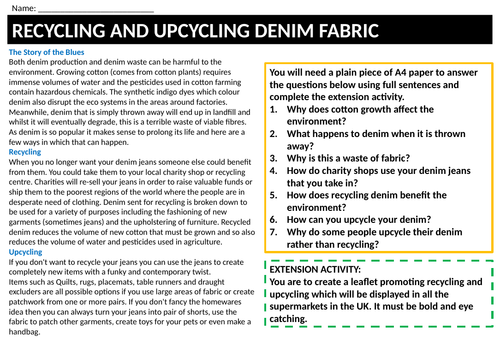 Cover work -up cycling and recycling