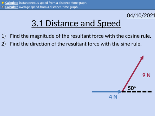 OCR AS level Physics: Distance and Speed
