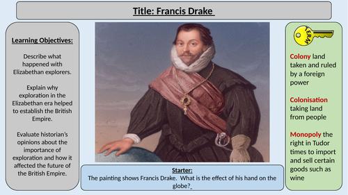 3. Francis Drake -OCR GCE J411 9-1 The Elizabethans 1580-1603 Section 5