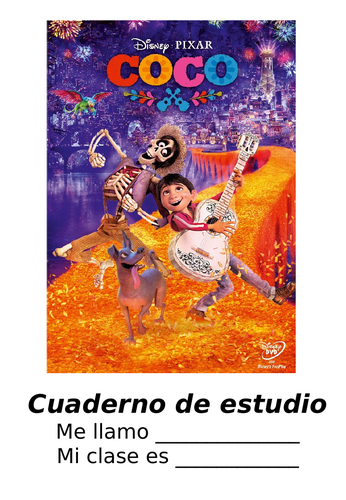 Coco Film project booklet