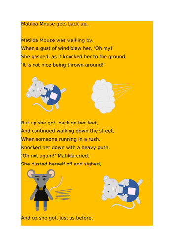 Matilda Mouse - rhyming stories for children