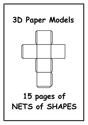 3D Paper Models Booklet