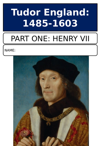 AQA A Level Henry VII revision guide