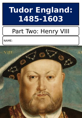 AQA Henry VIII Revision Booklet