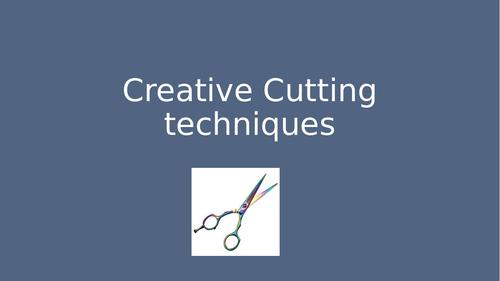 Level 3 Creative cutting techniques