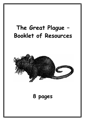 The Plague - Resources Booklet (8 pages)