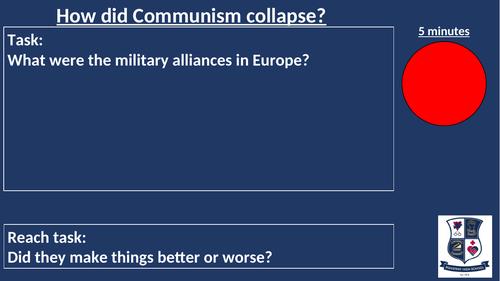Eduqas - WJEC - GCSE History - Collapse of Communism