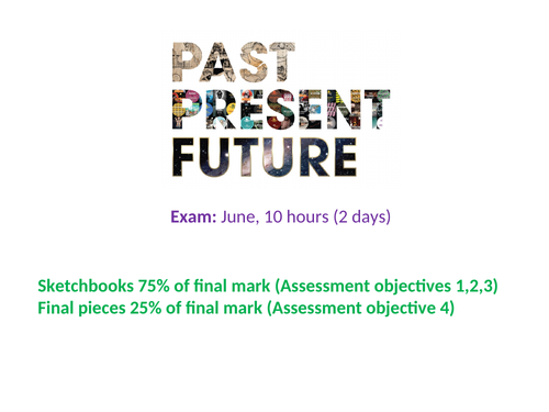 GCSE Art Past, Present and/or Future Exam Theme Intro