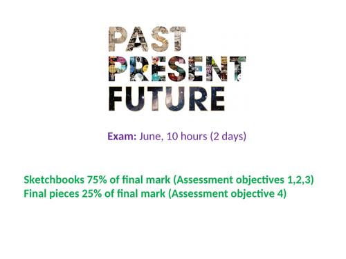 GCSE Art Past, Present and/or Future Exam Theme Intro