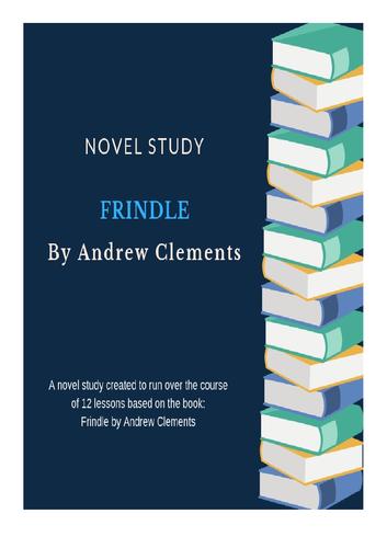 Frindle Unit Plan - Novel Study with Worksheets