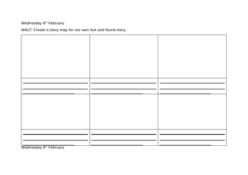 Differentiated Story Maps for Dogger (Lost and Found Story)