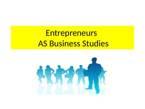 Entrepreneurship Powerpoint (NEW SPEC)