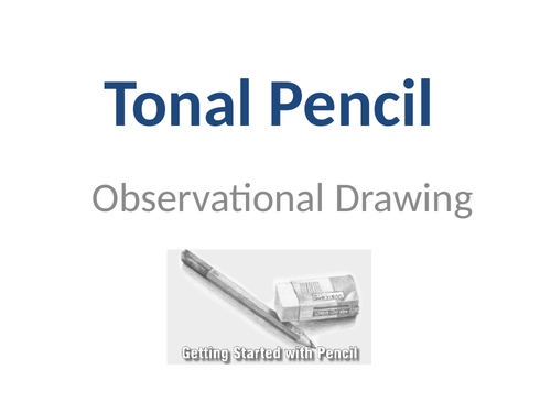 GCSE Art - AO1 Observational Drawing & Tonal Pencil