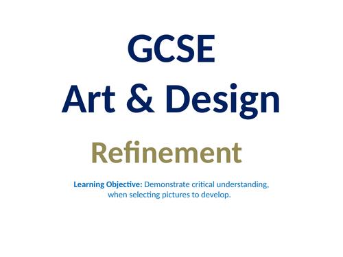 GCSE Art - Refinement