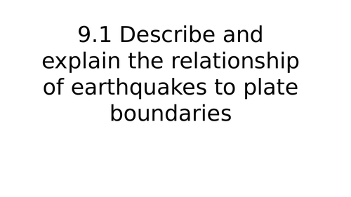 Hazards Resulting from Tectonic Processes Class Powerpoints
