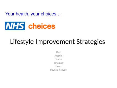Lifestyle Improvement Strategies