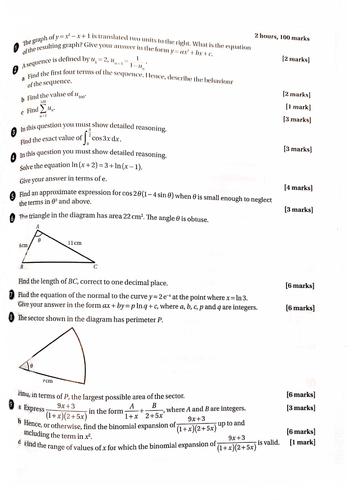 Advanced Pure Mathematics: Secondary Maths Resources ǀ Tes