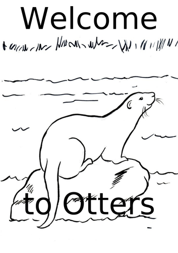 Welcome to Otters Class Sign