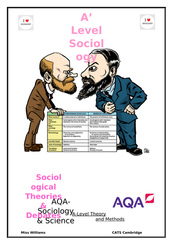 A Level Sociology Sociology & Science work book