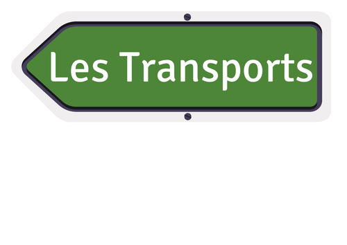 French Transport display
