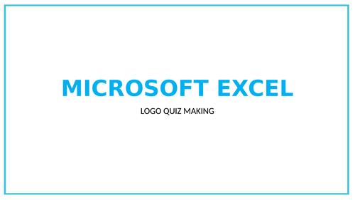 Excel Logo Quiz Making (One Off)