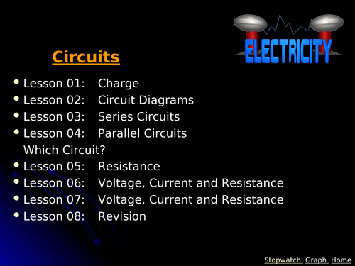 IGCSE Edexcel Physics P2 Electricity Lesson and Questions