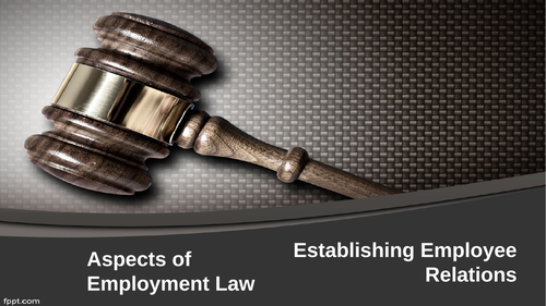 Employment Law: Employee Relations