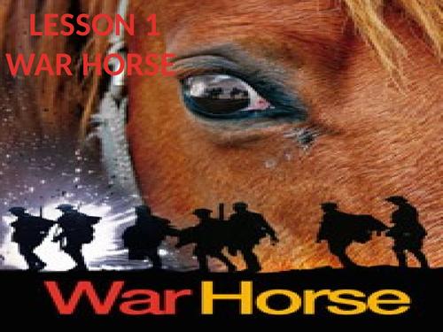 KS3 Unit of Work- War Horse.