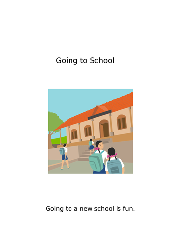 Social story - going to school