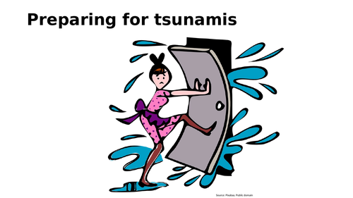 Preparing for a tsunami using 2004 Indian ocean tsunami as a case study