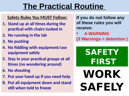 Practical Safety Rules