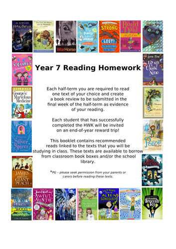 KS3 (Whole-School Literacy) Recommended (Fiction) Reading Lists Linked to KS3 SoWs