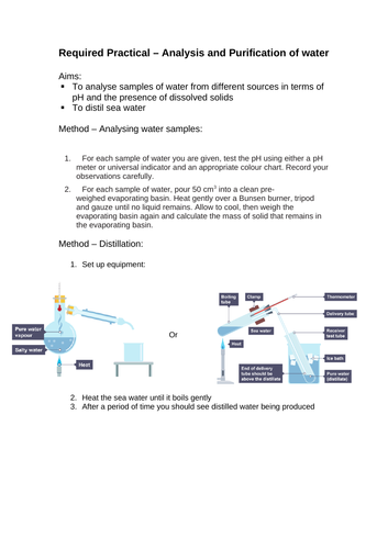 Chemistry Paper 2 (triple) Practicals