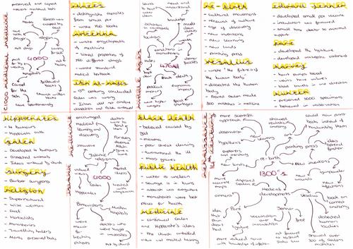 Medicine timeline History GCSE