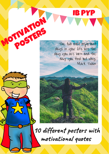 Motivational Poster - Quotes