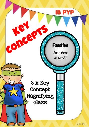 Key Concepts - IB PYP