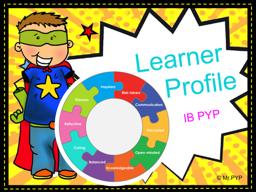 Learner Profile Display - IB PYP