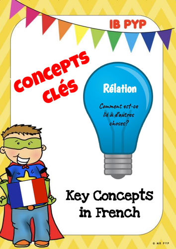 Concepts Clés (Key Concepts in French) - IB PYP