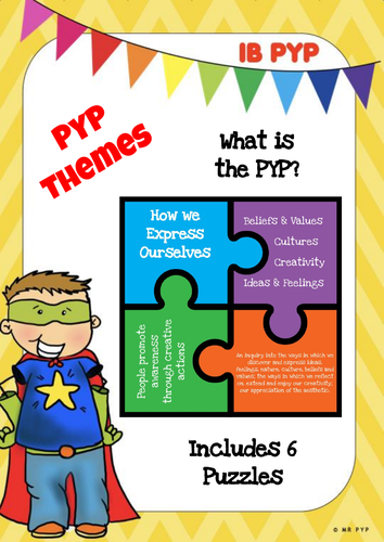 Theme Puzzle - IB PYP