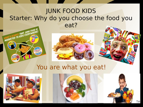 Cover work - Junk food kids