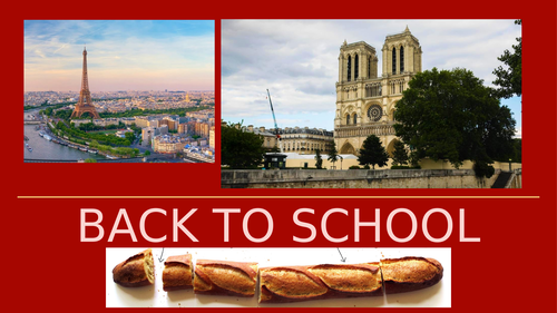 Back to School Quiz - 2019 (French Edition)
