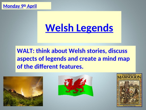 Welsh Legends ~ COMPLETE SET OF 12 LESSONS ~ 3 WEEKS OF LESSONS & RESOURCES