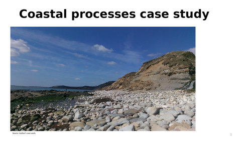 Holderness coastline case study