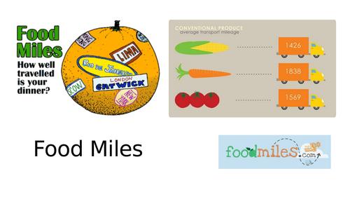 Food Miles Task
