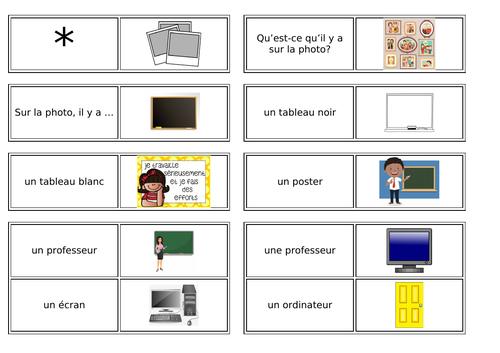 Ma salle de classe / My classroom / Classroom Objects