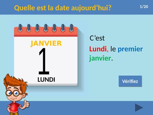 La date / Dates