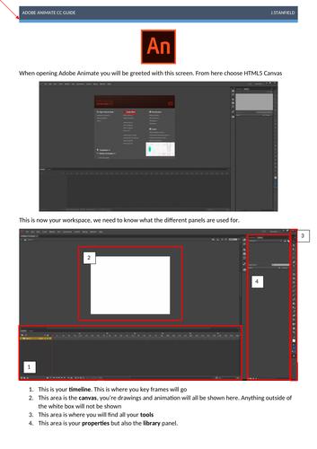 Adobe Animate CC Quick Start Guide