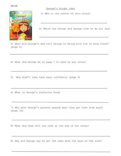 Project X Level 7 Comprehension Activities